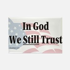 In God We Still Trust Rectangle Magnet