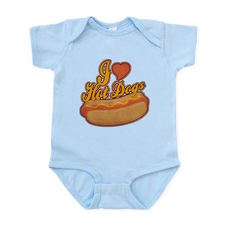 ILoveHotdogs.png Infant Bodysuit
