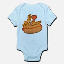 ILoveHotdogs.png Infant Bodysuit