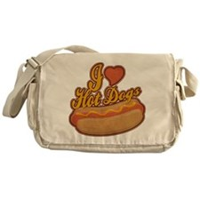 ILoveHotdogs.png Messenger Bag