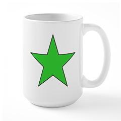 The Olive Green Star Shop Large Mug
