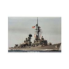 USS SAMPSON Rectangle Magnet