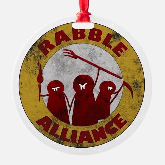 Rabble Alliance Ornament