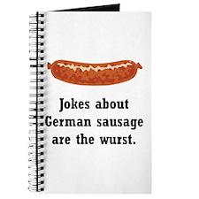 German Sausage Black.png Journal