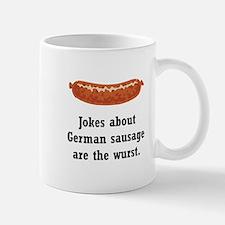 German Sausage Black.png Mug