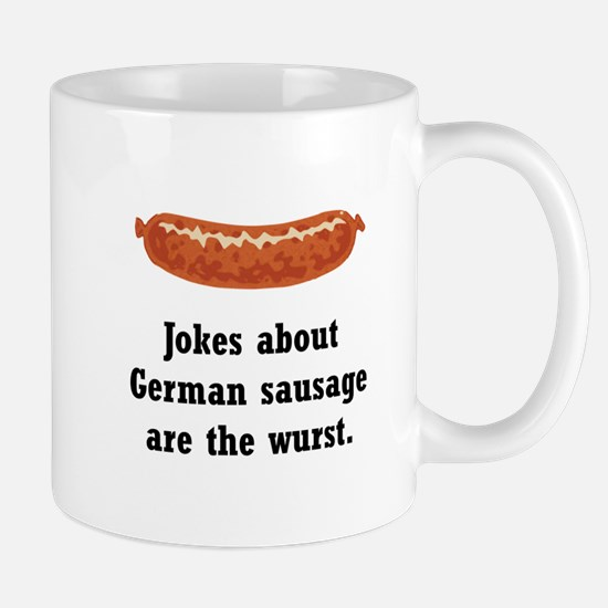German Sausage Black.png Mug