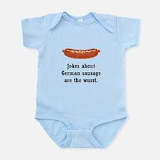 German Sausage Black.png Infant Bodysuit