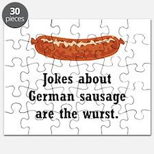 German Sausage Black.png Puzzle