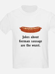 German Sausage Black.png T-Shirt