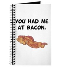 Had Me At Bacon Black.png Journal