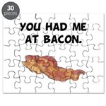 Had Me At Bacon Black.png Puzzle