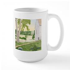 Summer Meadow and Barn Mug