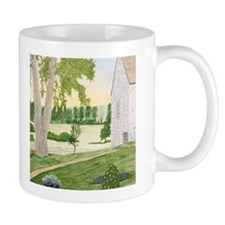 Summer Meadow and Barn Mug
