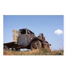 The Hamptons: Old Potatoe Farm Truck Postcards (Pa