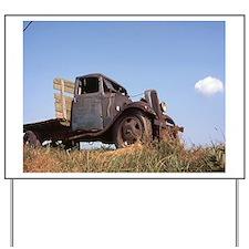 The Hamptons: Old Potatoe Farm Truck Yard Sign