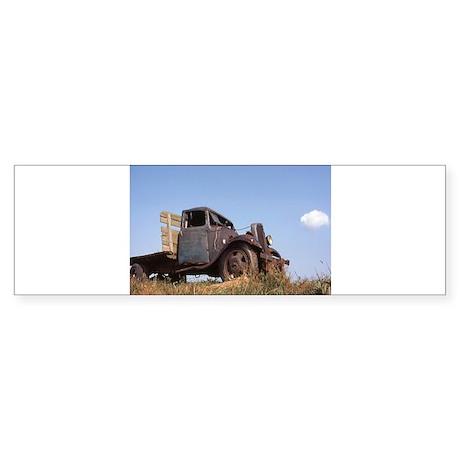 The Hamptons: Old Potatoe Farm Truck Sticker (Bump