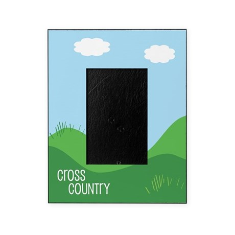 Cross Country Running Picture Frame