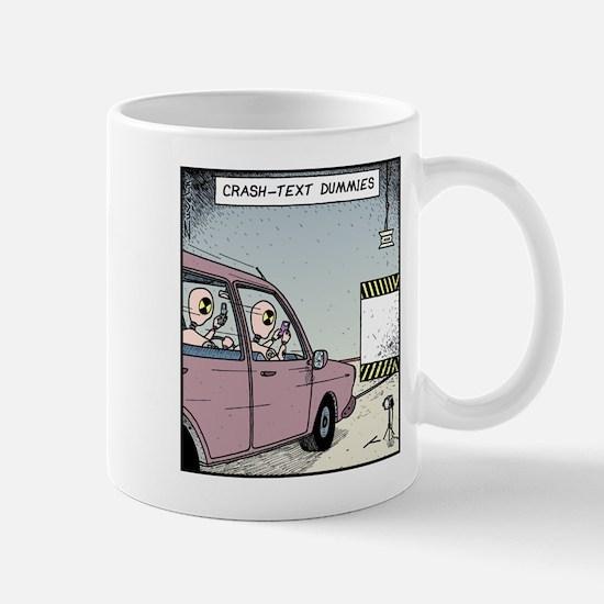Crash-text Dummies Mug