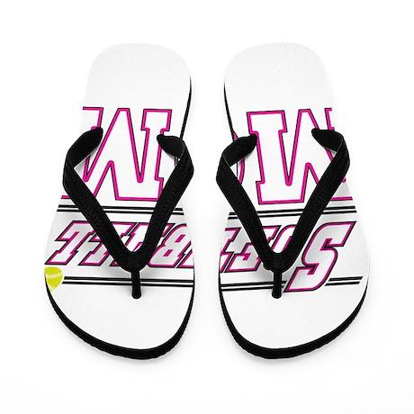 softball mom.png Flip Flops