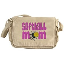 Softball mom Messenger Bag