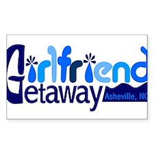 Girlfriend Getaway Asheville.png Decal