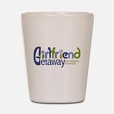 Girlfriend Getaway Savannah.png Shot Glass