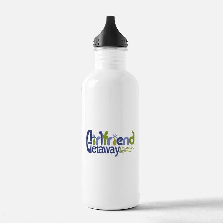 Girlfriend Getaway Savannah.png Water Bottle