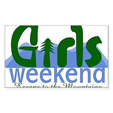 Mountain Girls Weekend Decal