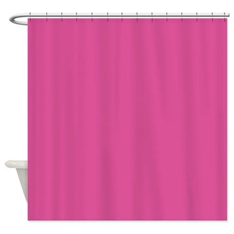 deep pink shower curtain by inspirationzstore