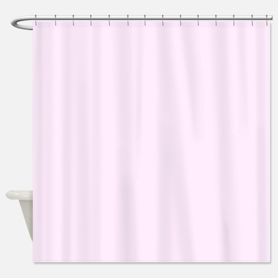 Pale Pink Shower Curtain