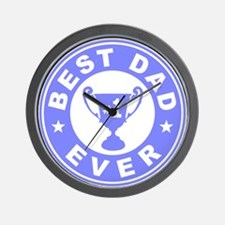 Best Dad Ever Wall Clock