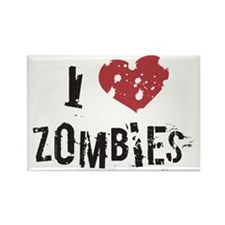 I Heart Zombies - Magnet
