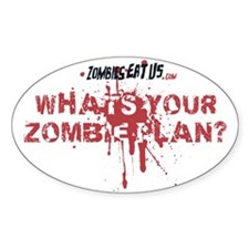 What's Your Zombie Plan? - Decal