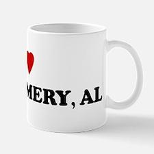 I Love Montgomery Mug