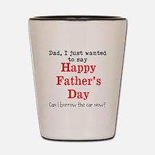 Fathers Day Shot Glass