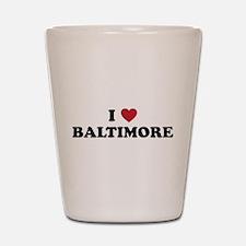BALTIMORE.png Shot Glass