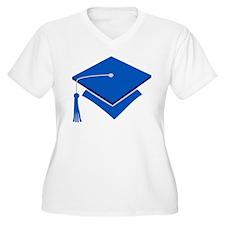 Blue Grad Hat Gift T-Shirt