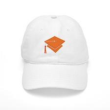 Orange Grad Hat Gift Baseball Cap
