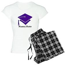 Personalized Purple Graduation Pajamas
