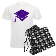Purple Grad Cap Gift Pajamas