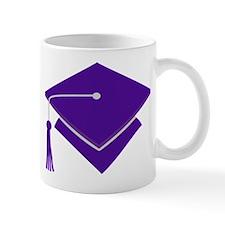 Purple Grad Cap Gift Mug