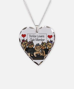Yorkie Lovers Club Member Necklace