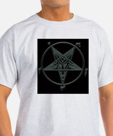 Baphomet-black-background.png T-Shirt