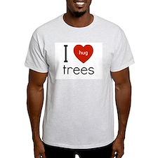 I love to hug trees T-Shirt