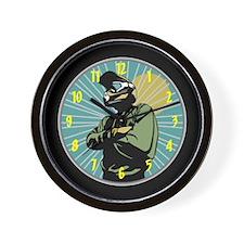 BMX Racing Wall Clock