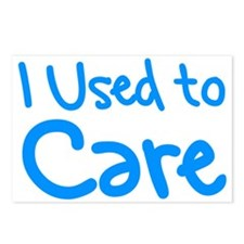 I Used to Care Postcards (Package of 8)