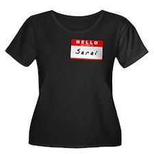 Sarai, Name Tag Sticker T