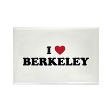 I Love Berkeley Rectangle Magnet