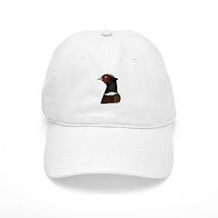Ringneck Rooster Head Baseball Cap