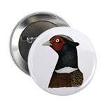 "Ringneck Rooster Head 2.25"" Button (10 pack)"